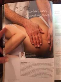 les bienfaits de l'ostéopathie sur les jeunes et futures mamans l'ostéopathe